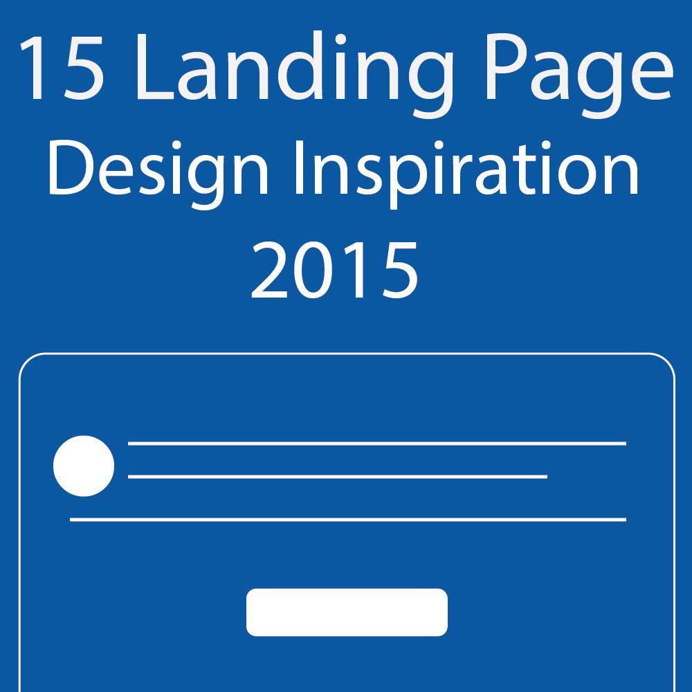 15 landing page design inspiration banner