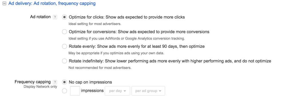 Adwords Ad Delivery