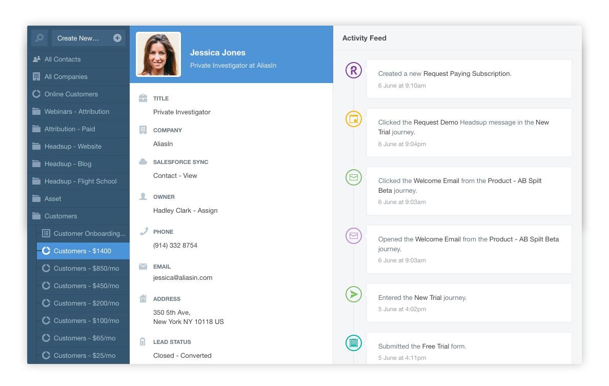 autopilot-contact-database