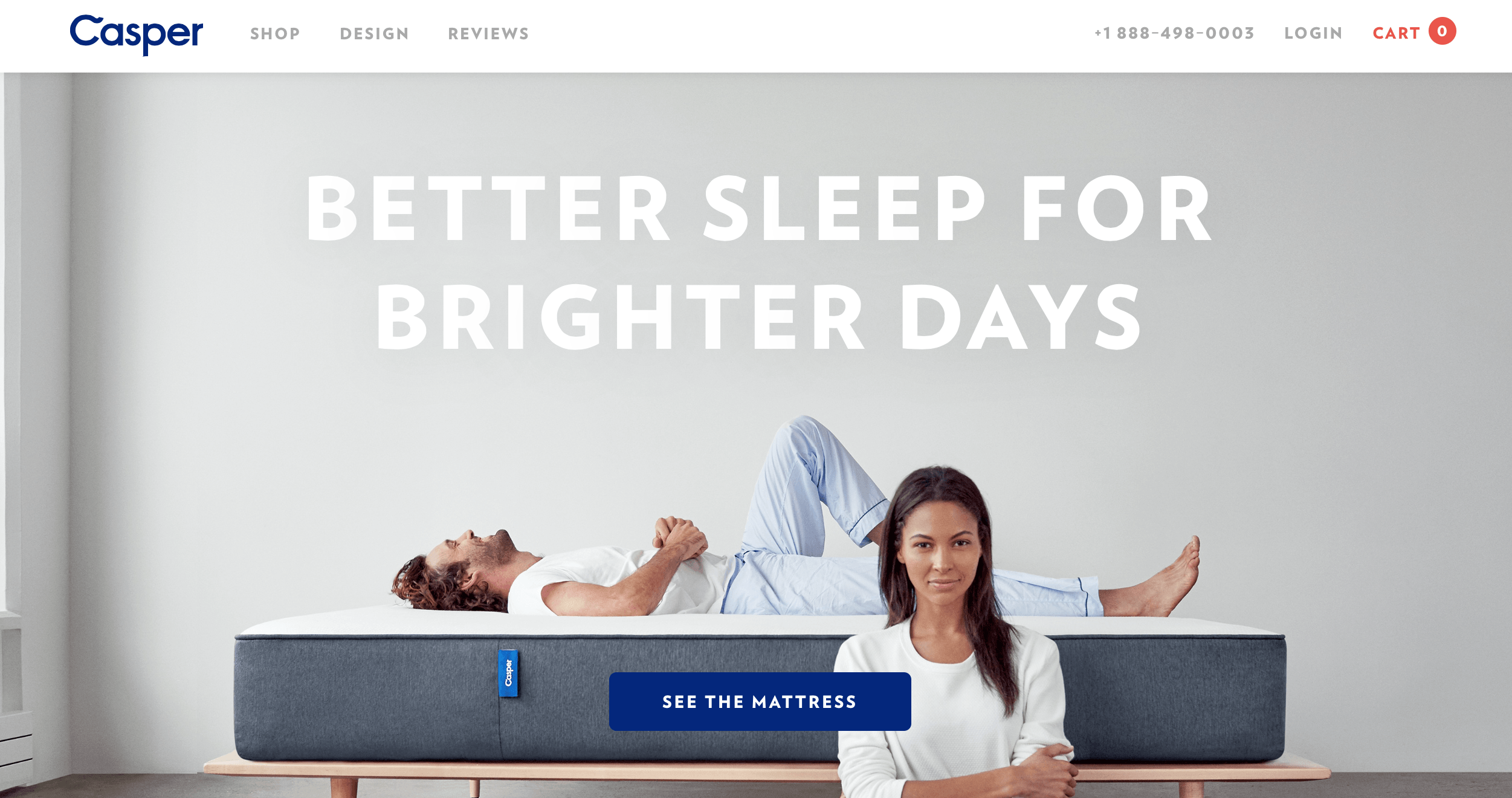 Casper Mattress Landing Page Rahul Ghosh Digital