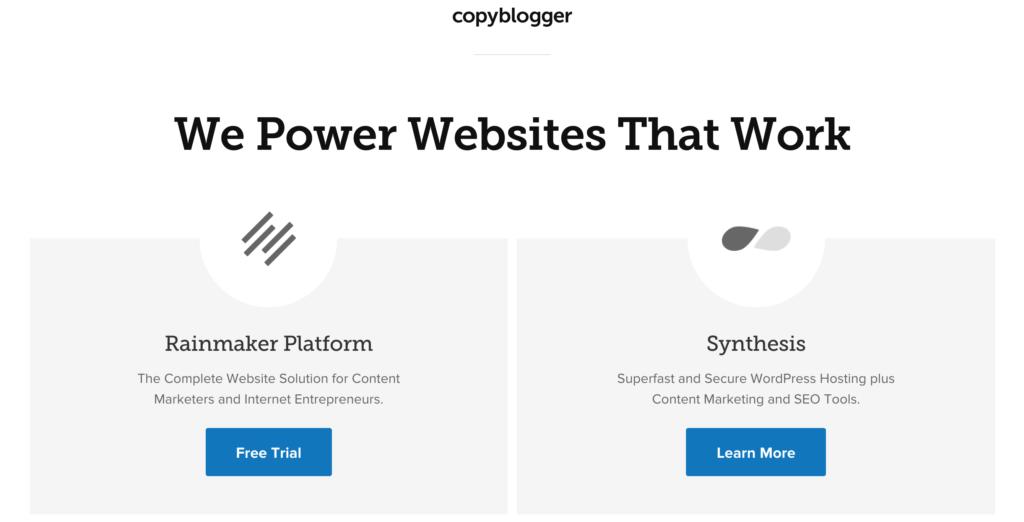 CopyBlogger HomePage