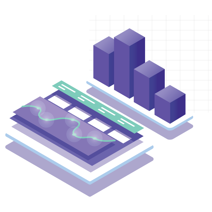 Data-model-isometric