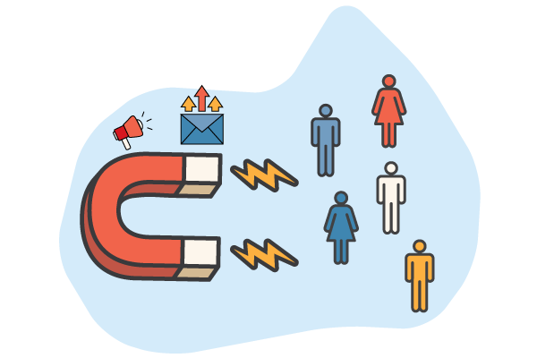lead generation magnet icon