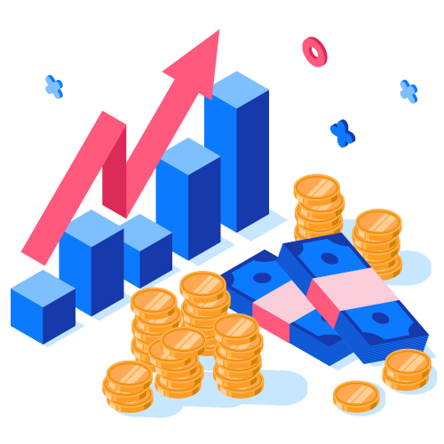 return on investment isometric
